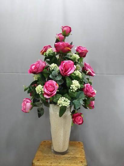 Bunga Mawar warna fanta
